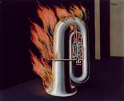 Magritte: Descubrimiento del fuego