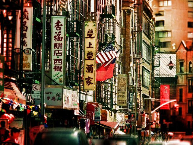 Andrea Cote: Chinatown a toda hora