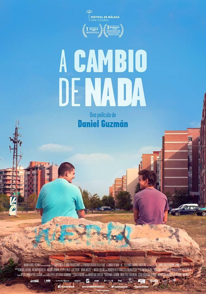 Cine: A cambio de nada, Daniel Guzmán
